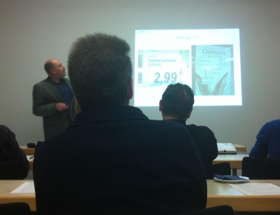 DPRG-Workshop Marketingsprache. Foto: Tino Göbel