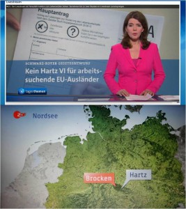 "Screenshot-Collage ""Har(t)z"" bei ARD/ZDF. Quelle: privat"