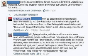 Screenshot Spiegel-Kommentar FB. Quelle: privat