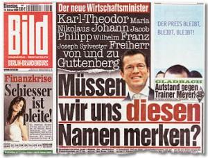 BILD-Titel. Quelle: http://www.bildblog.de/5704/wie-ich-freiherr-von-guttenberg-zu-wilhelm-machte/