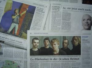 Nordseezeitung 18.12.2010, S. 9, 22, 41. Quelle: privat