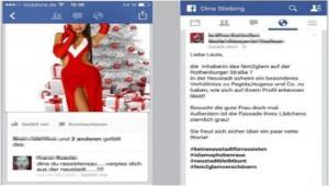 Linke Drohungen. Quelle: http://www.bild.de/regional/dresden/asyl/antifa-geht-auf-pegida-teilnehmerin-los-38921568.bild.html
