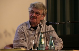 Christoph Hein 2012 in Chemnitz. Quelle: https://de.wikipedia.org/wiki/Datei:ChristophHein_2012.jpg