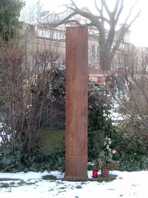 Grab von Heiner Müller auf dem Dorotheenstädtischen Friedhof in Berlin