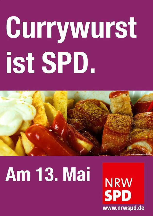 Currywurst ist SPD. Quelle: Ruhrbarone.de