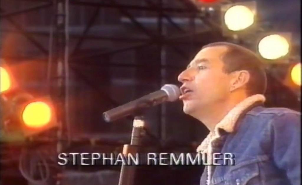 Stephan Remmler beim Kölner Konzert. Quelle: Youtube
