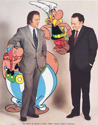 Die Asterix-Autoren Goscinny und Uderzo. Quelle: https://img.theweek.in/content/dam/week/webworld/feature/society/2017/april/asterix-1.jpg