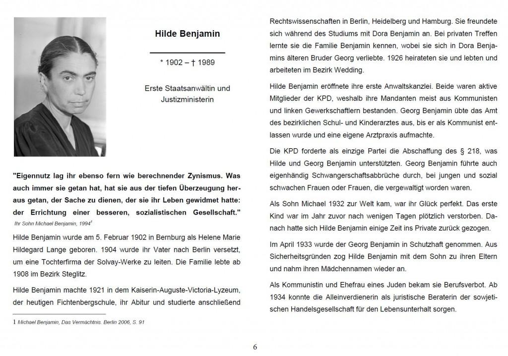 Screenshot der Broschüre. Quelle: https://bilder.t-online.de/b/83/78/29/90/id_83782990/tid_da/screenshot-der-ersten-seite-des-artikels-ueber-hilde-benjamin-in-der-broschuere-starke-frauen-die-broschuere-wurde-inzwischen-zurueckgezogen-.jpg