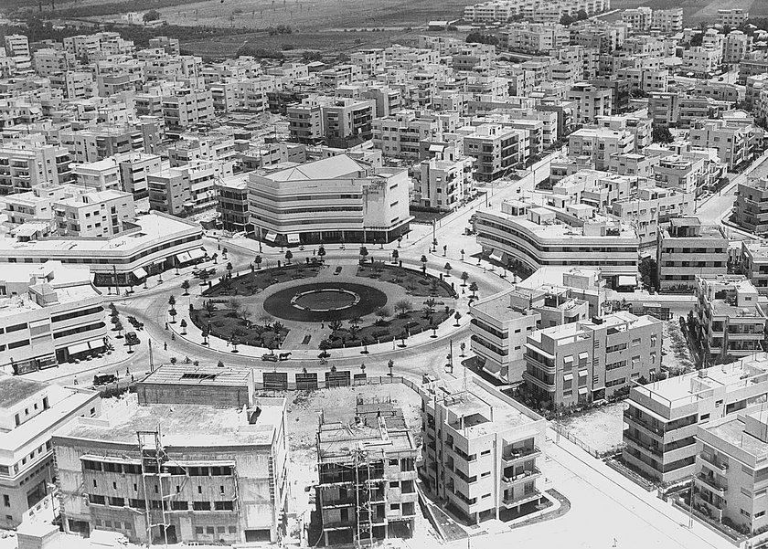 Weiße Stadt Tel Aviv. Quelle: https://www.bauhaus-dessau.de/im/840x0/b1530fd1097ed59bc7f0317ec25e640b.jpg